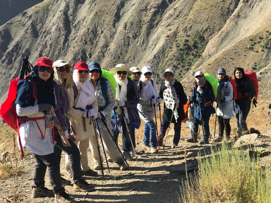 گروه کوهنوردی دانشگاه علوم پزشکی بیرجند